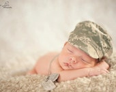 Camouflage Infant Hat - ABU Air Force Camo