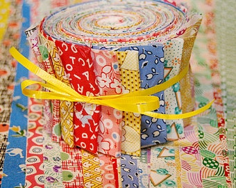Jelly Roll - 30's Reproduction Fabrics - 20 strips