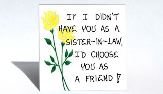 best sister in law quotes - photo #2