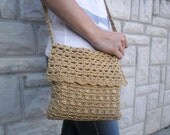 Bag, Crochet handbag, Handmade elegant and stylish bag