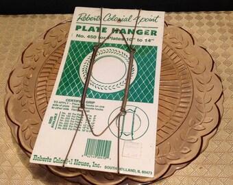 Vintage Hanger Kit for A Plate