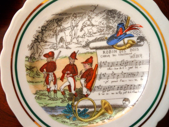 Parry Viellle French Opera Plates.