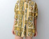 Vintage golden decadence baroque shirt