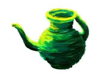 Vessel in Green