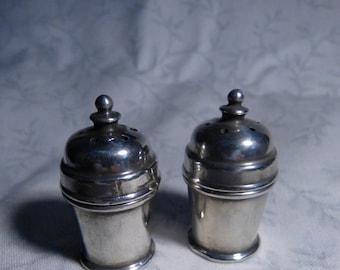 "Vintage Solid ""Sterling Silver"" Salt and Pepper Shakers"