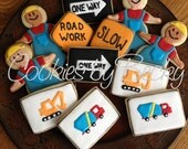 Construction Cookies &  Ducks