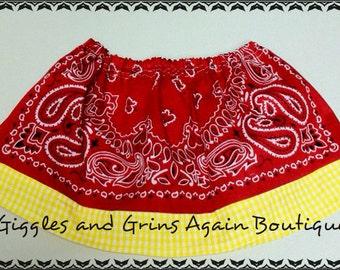 Bandana Skirts, Girls Twirl Skirts, Bandana Twirl Skirts, Cowgirl Twirl Skirts, Cowgirl Cuteness, Girls Skirts, Baby Skirts, Toddler Skirts