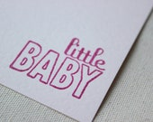 Little Baby Set of 6 Note Cards