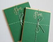 Peace Christmas Cards