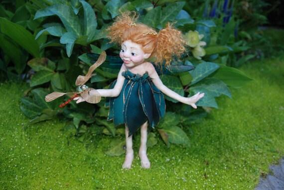 Sarahdipity Fairy Sprite Doll HANDMADE Sculpture OOAK