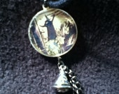 5 OFF SALE Wicked Witch of the West and Flying Monkeys - Bizarre Pendant Necklace - 20 inch