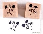 60% OFF SALE Flower pattern Rubber Stamp Set
