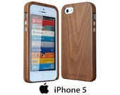 Wood Case iPhone 5s Exotic Walnut
