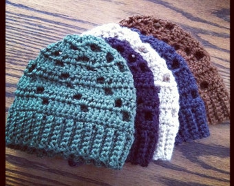 Infant Boy Beanie - Specify Colors at Checkout
