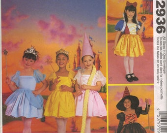 McCall's Costume Sewing Pattern 2936 - Children's & Girl's Storybook Costumes