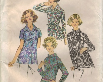 Vintage Simplicity Sewing Pattern 5359 - Women's Blouses (42)