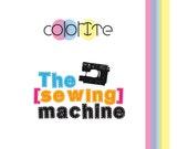 Premade logo design , brand design , one of a kind , sewing machine