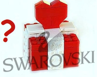 Surprise gift made from LEGO (R) bricks with or without SWAROVSKI crystals Type 2