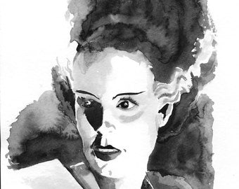The Bride of Frankenstein 8x10 print