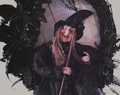 Halloween Wreath     Style by Kellye