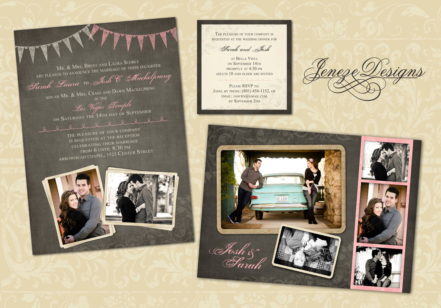wedding invitation wording wedding invitation templates for photoshop elements. Black Bedroom Furniture Sets. Home Design Ideas