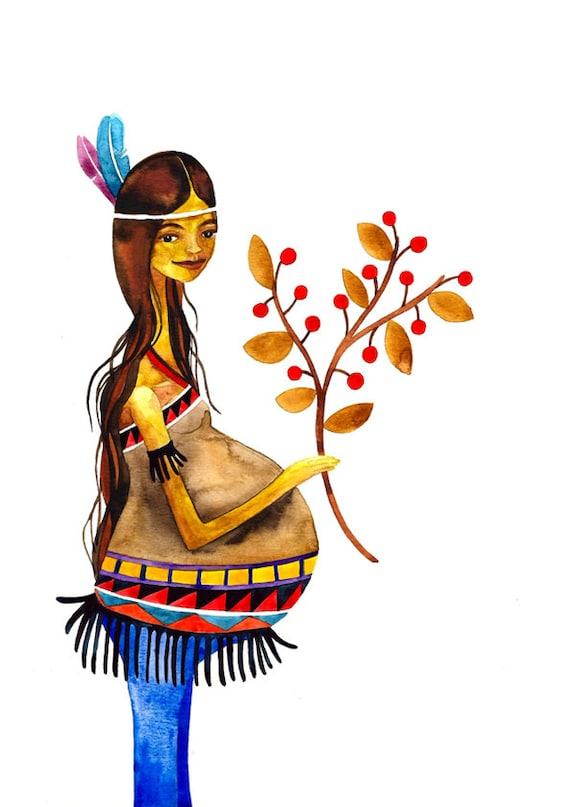 Native American Pregnant 49