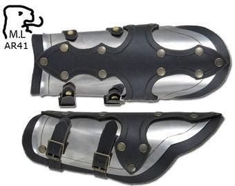 New bracer Medieval Warrior stainless steel Armor Larp Gothic AR41
