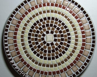 "12"" Mosaic Decorative Plate"