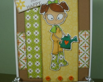 Friendship Card with Buttons