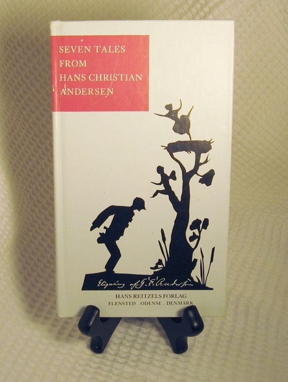 Reserved for Nicholad - Vintage Danish Hans Christian Andersen Book Printed in Denmark