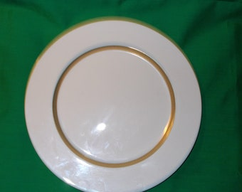 """One (1). 10 1/2"""" Porcelain Dinner Plate, from Sango China, in the Empress Pattern"""