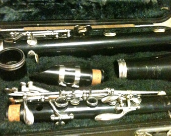 Vintage Yamaha 20 Clarinet with Case
