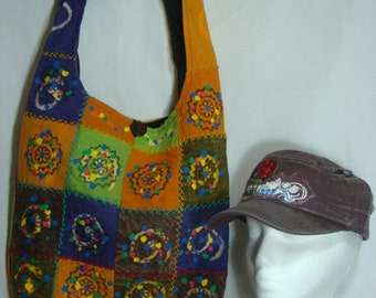 Love and Peace Hobo Bag Series with FREE cap (009)