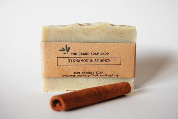Cinnamon & Almond Soap- All natural Soap