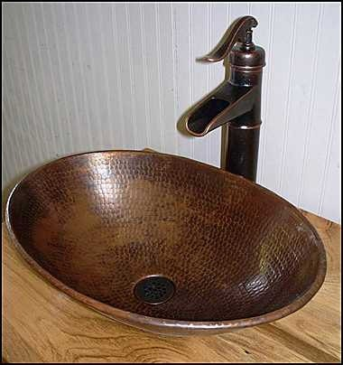 copper bathroom sink rustic log bathroom vanity ms1373 25 faucet 25 12512