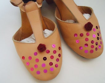 Ballerina Specials Shoes with Handmade Decoration