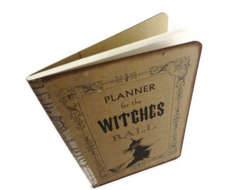 Spell Book, Mini Witch Journal, Witch's Pocket Diary, Witches Notebook, Halloween Planner, Wiccan / Pagan, Mini Book of Shadows