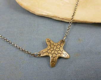 starfish necklace | tide pool necklace | sea star | ocean jewelry | beach necklace | Starfish Necklace