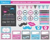 DIY Gender Reveal Baby Shower Printables