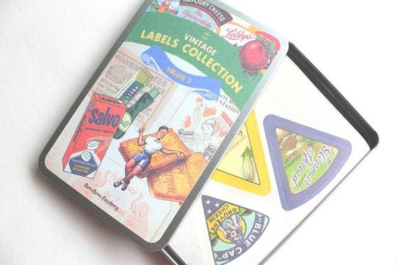 Black Friday Etsy Cyber Monday Etsy - Korean Stationery - Vintage Label Stickers - Volume 3