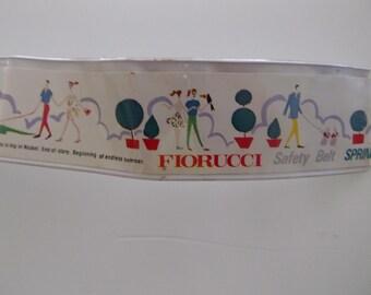 Vintage Fiorucci safety story belt Spring 1979