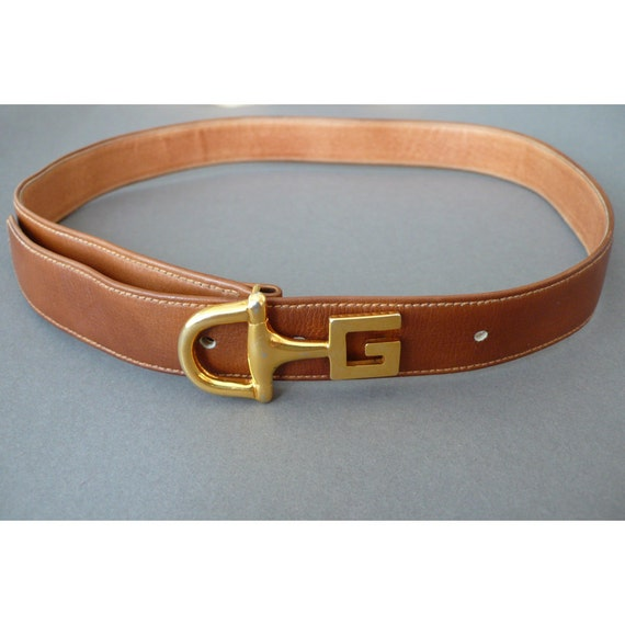 Classic brown vintage Gucci belt - Small