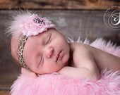 infant headband....baby headband....flower headband...newborn headband...photo prop