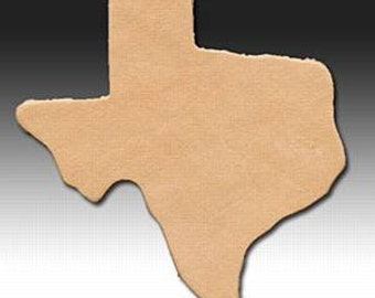 Genuine Leather State of Texas Shape 25pk #100-470502