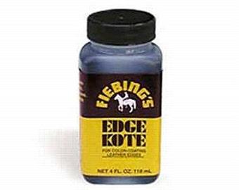 Black Fiebings Edge Kote 4oz #34-222501