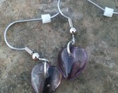 I Heart Purple Earrings- Style 01
