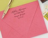 custom return address stamp CAROLINE