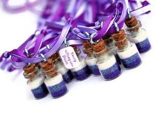 Fairy Necklace, Purple, Party Favor, dark purple, light purple, White Princess Party Favor, Fairy, Pixie