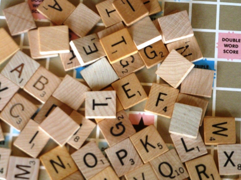 Scrabble Tiles Choose Your Letters Scrabble By NostalgicChic