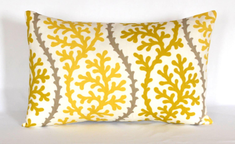 Black Friday Salethrow Pillow Citrine Lumbar Pillow Decorative